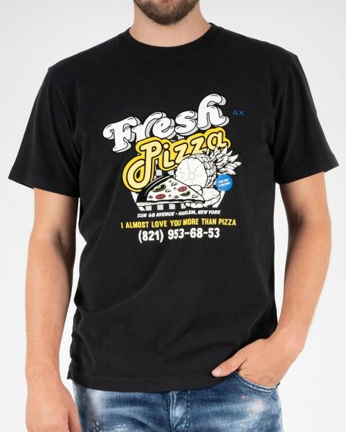Teeshirt SUN68 T40121 11 BLACK