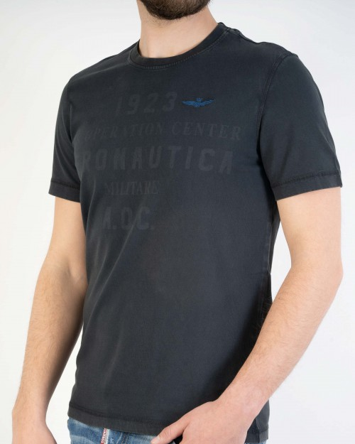 T-shirt m/c AERONAUTICA...
