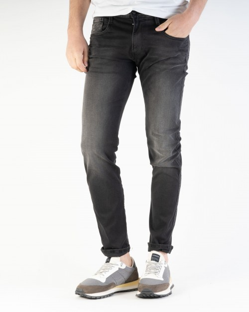 JEANS REPLAY NEGRE RE-USED...