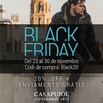 BLACK FRIDAY WEEK a CASAPUJOL & www.casapujol.com . . . #20percentoff #blackfriday #casapujolreus #disponibilitathorària #977345643 #de9a21hs #bestbrandsshop #italianstyle #aprovechaahora #suportlocalbusiness #comerçdeproximitat #reuscomerç #fins30novembre