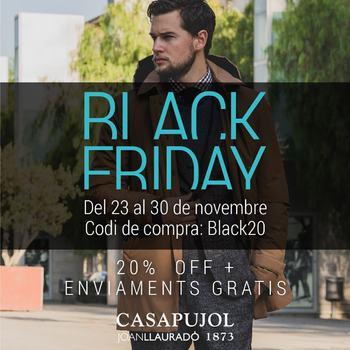 BLACK FRIDAY WEEK  2 0 % D T E  a la botiga i a la web  www.casapujol.com Codig. BLACK20 . . . #blackfriday #20percentoff #casapujolreus #disponibilitathorària #977345643 #aprovechaahora #bestbrandsshop #italianstyle #casapujolreus #suportlocalbusiness #comerçdeproximitat #de9a21hs
